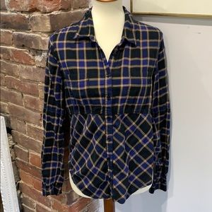 Free People Flannel- Size Small